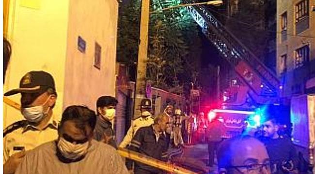 Tahran'da sağlık merkezinde patlama!