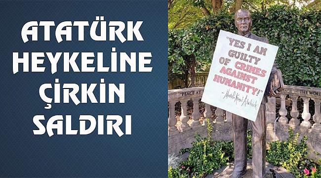 Washington'daki Atatürk Heykeline Saldırı