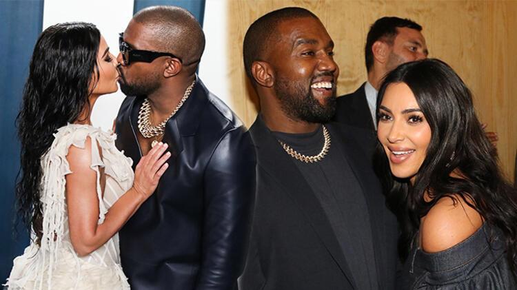 Kanye West'ten Kim Kardashian'a ilginç hediye