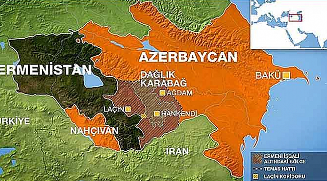 Azerbaycan, Ermenistan'a Ait askeri Üssü Vurdu