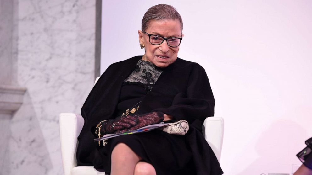Justice Ruth Bader Ginsburg hospitalized for possi