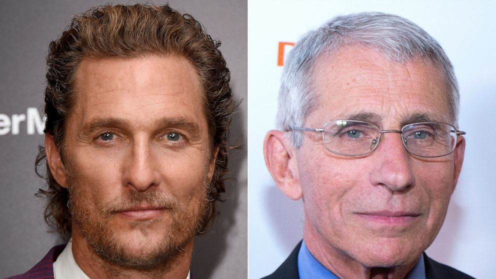 Matthew McConaughey grills Dr. Anthony Fauci in In