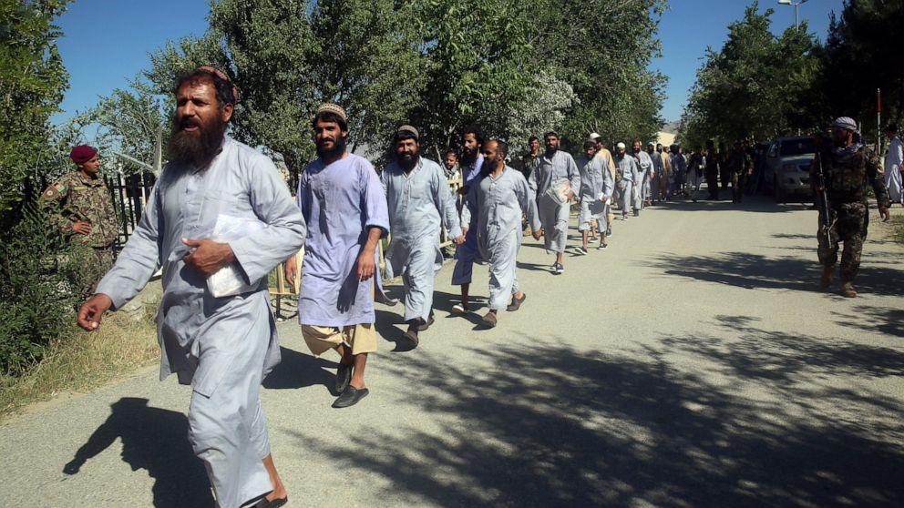 Kabul begins release of final 400 Taliban, talks t