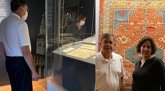 ABD Ankara Büyükelçisinden Müze Pozu