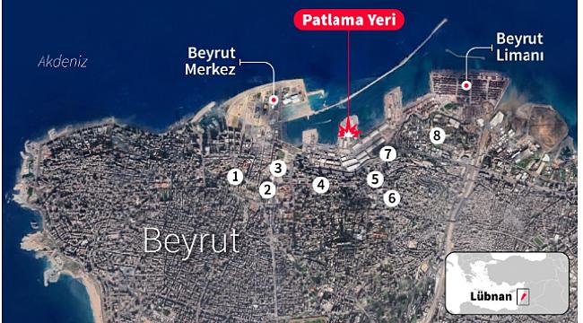 Beyrut'taki Patlama da 6 Türk Yaralandı
