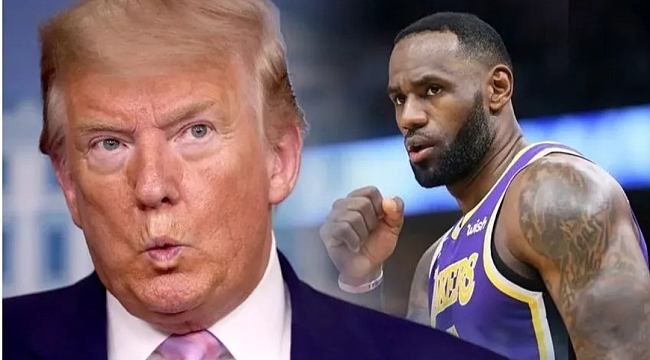 LeBron James den Trump'a Misilleme