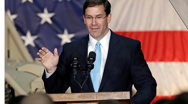 ABD Savunma Bakanı Esper, Afganistan için tarih verdi