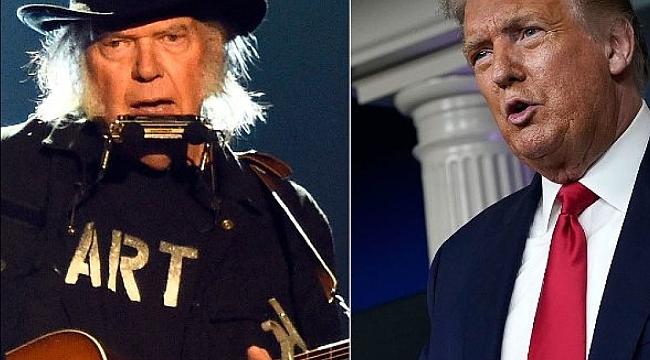 Neil Young, Şarkıları İçin Trump'a Dava Açtı