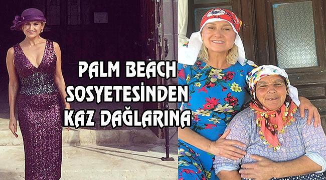 Palm Beach Sosyetesi Sevi Sarı Kaz Dağlarında