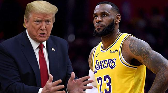 """Trump """"NBA, Siyasi Bir Örgüt haline geldi"""""""