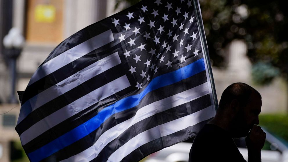 Blue Lives Matter supporters arrested with slew of