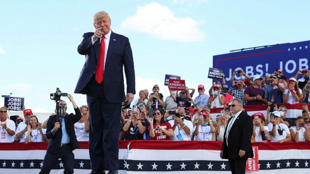 Trump to hold rally in Wisconsin county facing rec