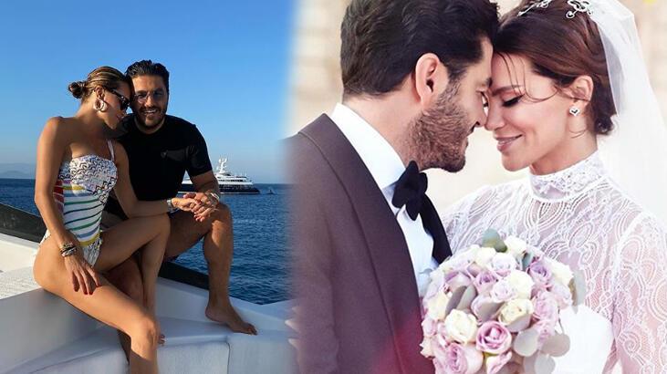 Ebru Şallı: Evlilik yıl dönümümüz kutlu olsun çizg