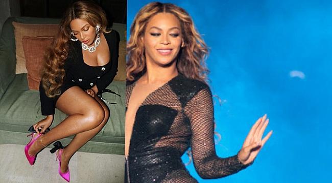 Beyonce sosyal medya Instagram hesabından paylaştığı bu fotoğraf büyük beğeni topladı