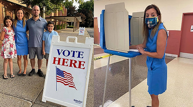 Ceylan Rowe Eyalet Meclisi İçin Oy Verdi