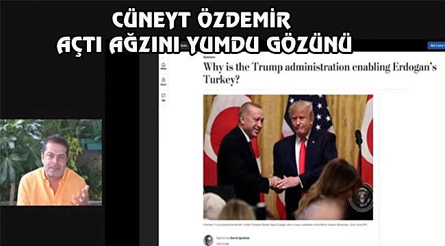Cüneyt Özdemir'i Çıldırtan WP Yazarı...