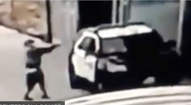 Los Angeles'de Iki Polis Tuzağa Düşürüldü