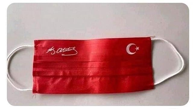 M.K. Atatürk Korona Maskeleri
