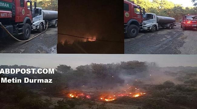 Manisa ve İlçelerinde Orman Yangıları Sürüyor.