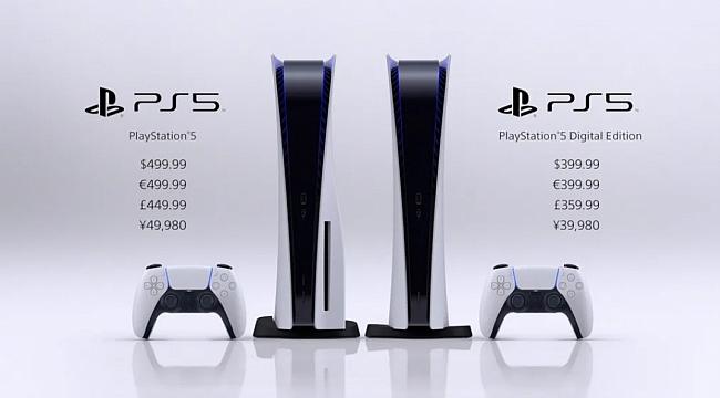 Sony PS5'in Fiyatını ve Çıkış Tarihini Açıkladı