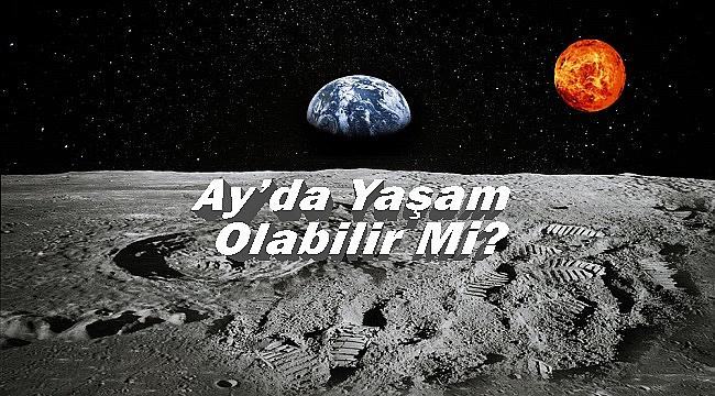 Bilim İnsanları Açıkladı; Ay'da Yaşam Olabilir!