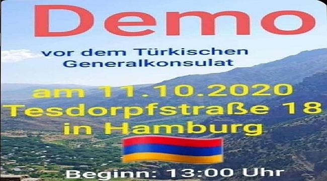 Hamburg'ta yaşayan gurbetçi Türkler ırkçı ermenilere karşı direnecekler