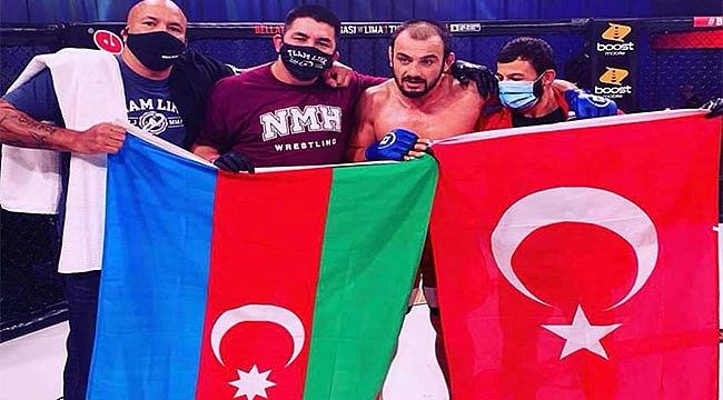 Kemran Lachinov UFC'de Türk Bayrağı Açtı