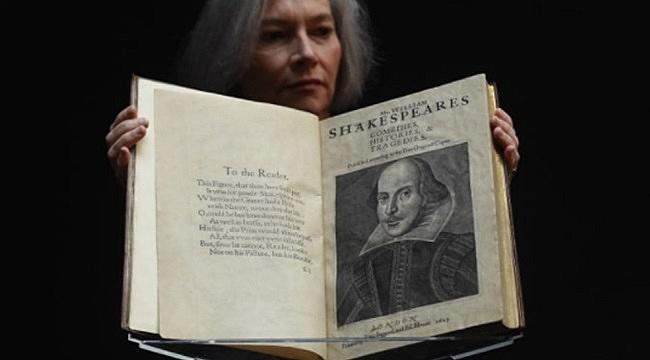 Shakespeare'ın Eseri 10 Milyon $'a Satıldı