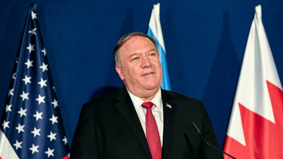 US hits Iran with new sanctions as Pompeo defends