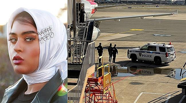 Newark'ta Müslüman Yazar Uçaktan Atıldı