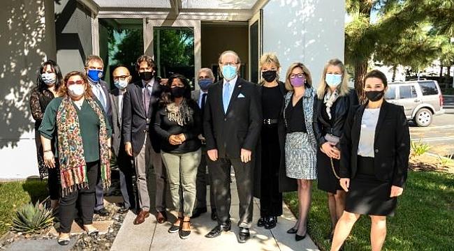 California'da, Pakistanlı Başkandan Türklere Ziyaret