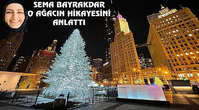 Chicago'ya Christmas Ağacı