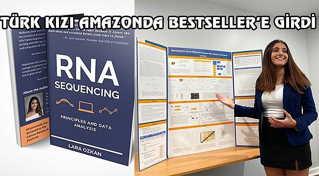 Lara Özkan Amazon'da Bestsellere girdi...