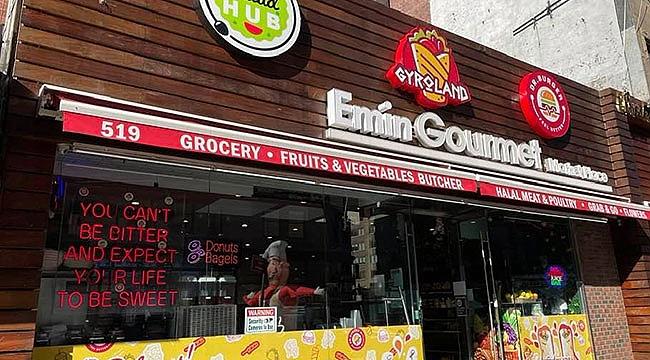 New York'ta Türk Market: Emin Gourmet