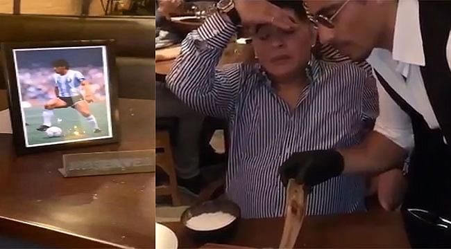 Nusret, Maradona'nın Masasını Rezerve Etti