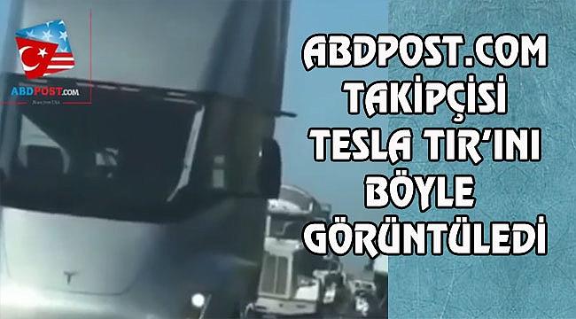 Sürücüsüz Tesla TIR'ı Yollarda...