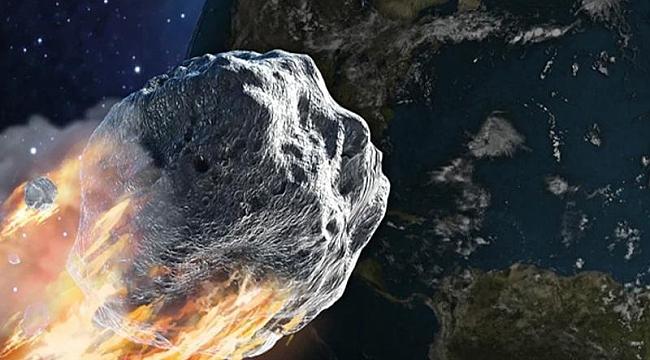 Tehlikeli bir asteroid Dünya'ya yaklaştı