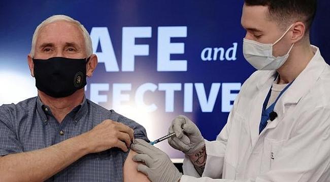ABD Başkan Yardımcısı Canlı Yayında Aşı Oldu