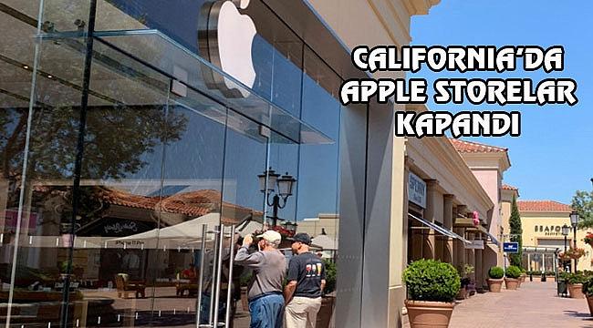 Apple California'daki Mağazalarını Kapattı