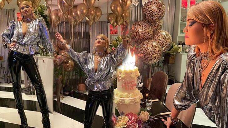 Doğum günü için kuralları çiğneyen Rita Ora para c
