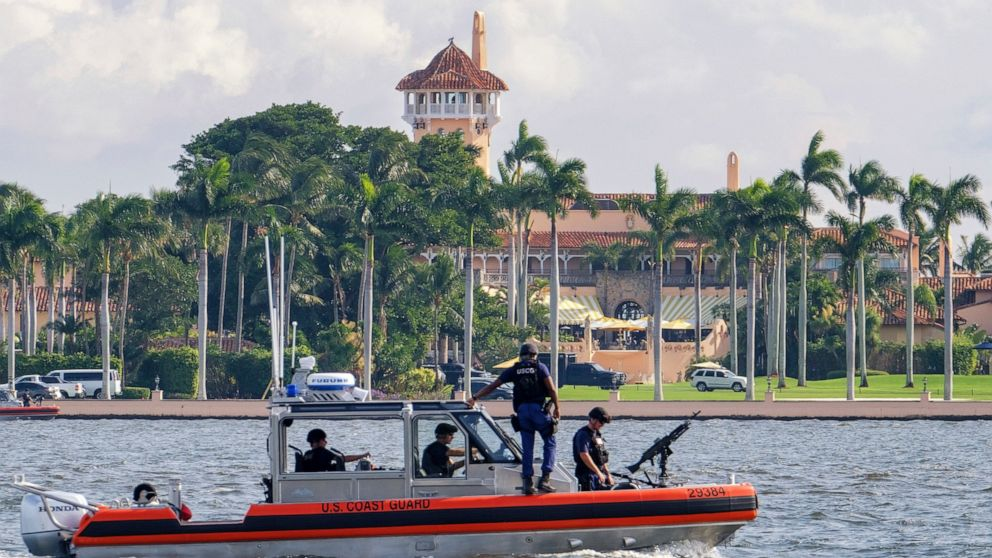 Trump's move to his Florida estate challenged