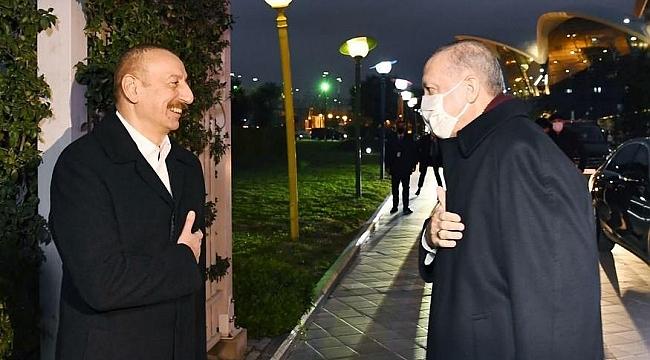 Erdoğan ve Aliyev Ermenistan'a Mesaj Gönderdi