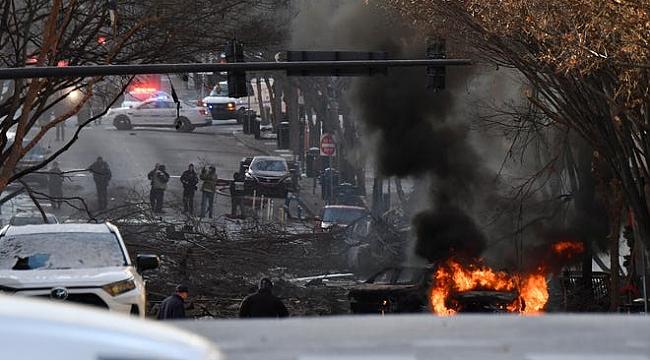 Nashville, Noel Sabahına Patlama İle Uyandı