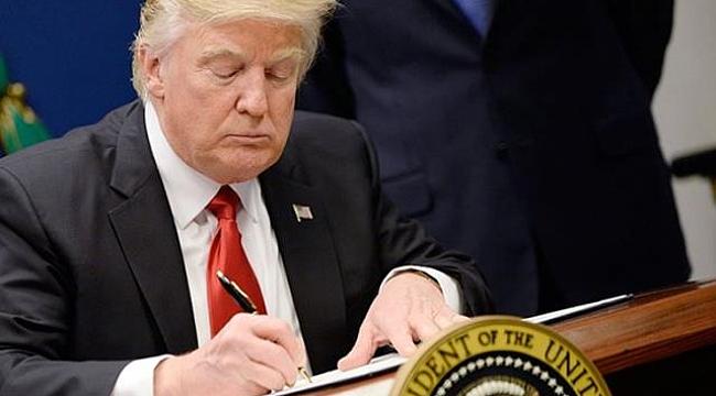 Trump İmzalamayacağım Demişti Ama...