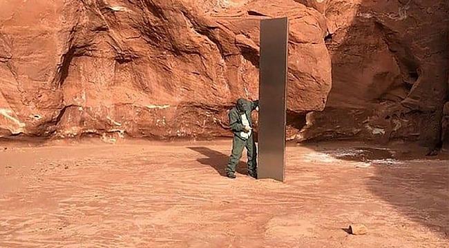 Dünya, Utah'daki Gizemli Monoliti Konuşuyor