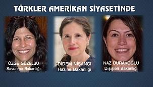 Biden Yönetiminde 3 Başarılı Türk Kadını