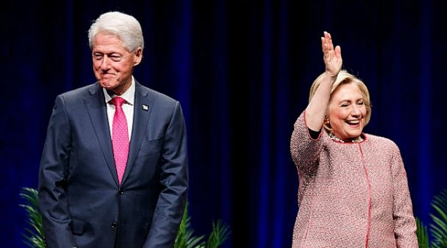Bill Clinton ve Hillary Clinton DC'de