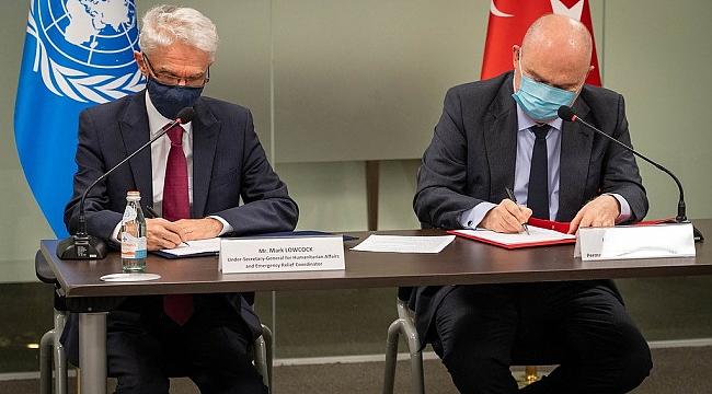 BM, OCHA'nın Ofisinin İstanbul'a Taşıyor