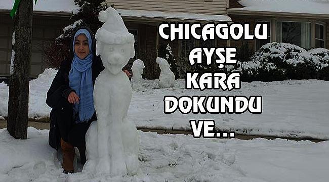 Chicago'da Ustalara Şapka Çıkaran Türk Kızı