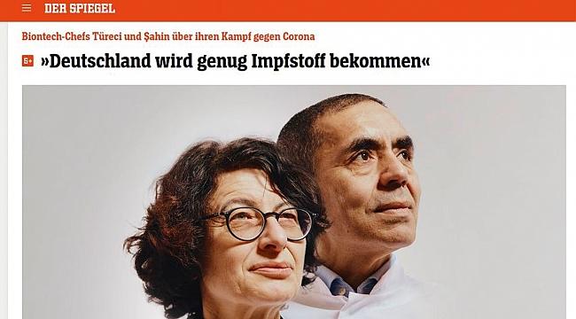 Der Spiegel'in Kapağındalar...